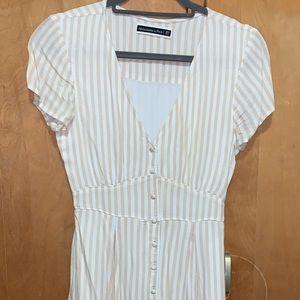 t shirt striped  mini dress